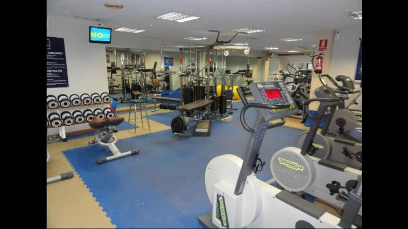 Gym membership included in holiday rental.