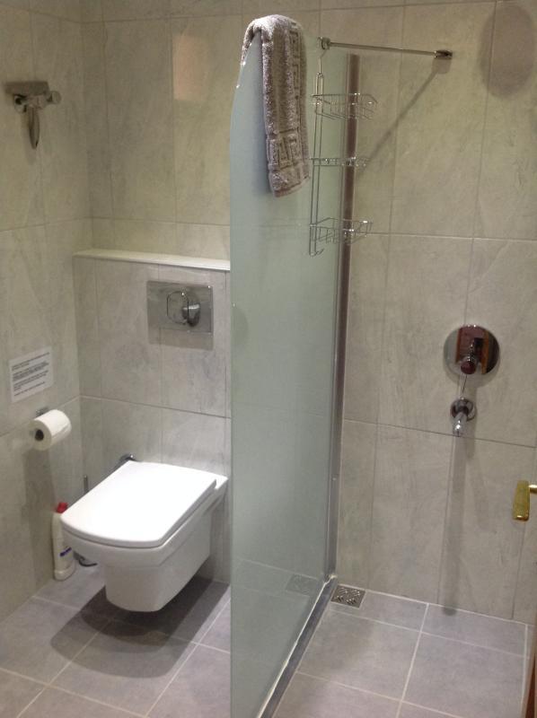 New shower/loo