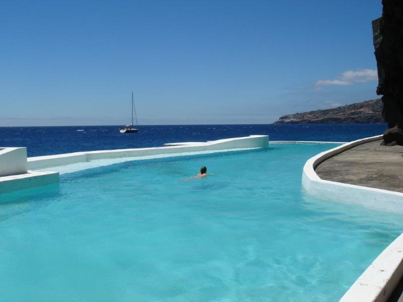 Sea pool at Hotel Albatroz