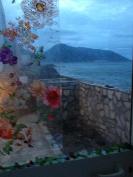 panorama dalla veranda e ingresso