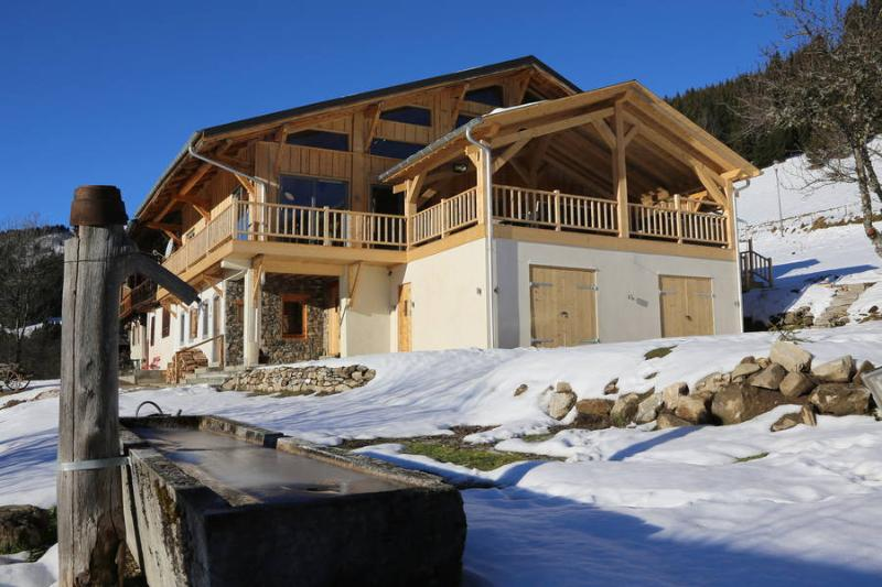 An award winning luxury mountain chalet with first class accommodation, service and views.