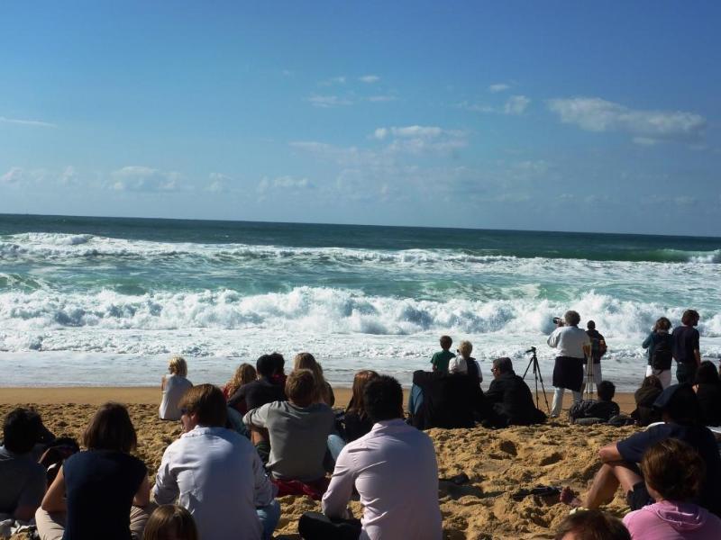 Le surf à Hossegor