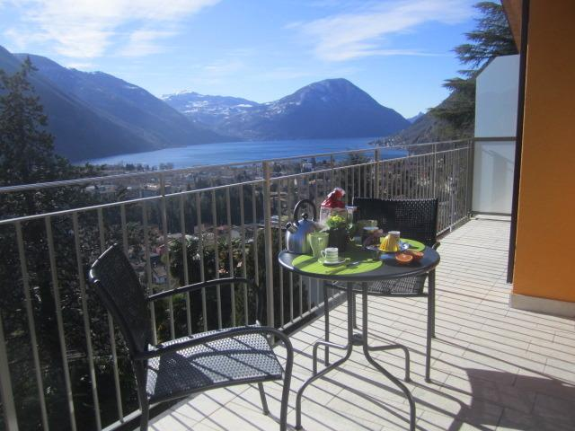 BREAKFAST WITH MAGNIFICENT VIEWS OF LAKE LUGANO