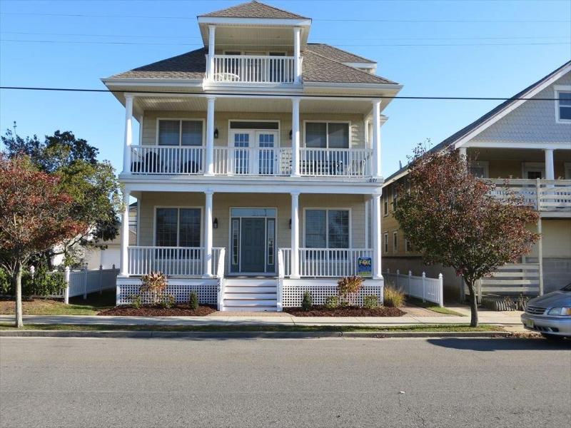 Spacious 5 BR With Ocean Views on 5th Street, vacation rental in Ocean City