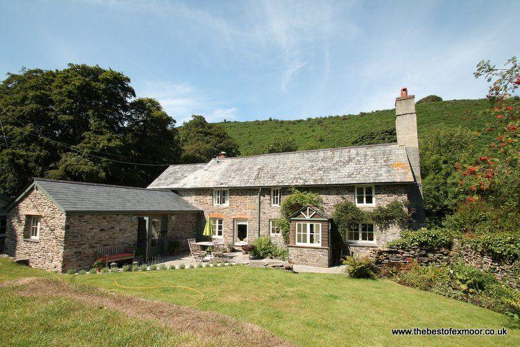 Poocks Cottage, Nr Malmsmead - Rural property on Exmoor to 'get away from it all, vacation rental in Exmoor National Park