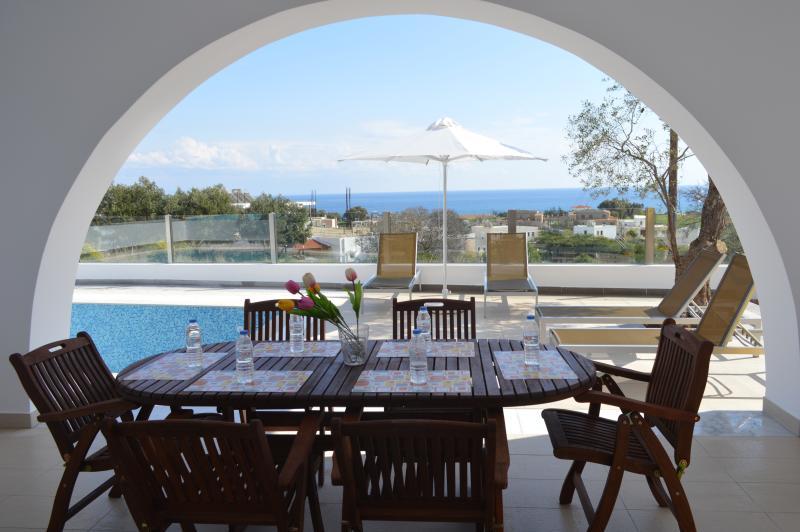 Gennadi Aegean Horizon villas villa A1, vacation rental in Gennadi