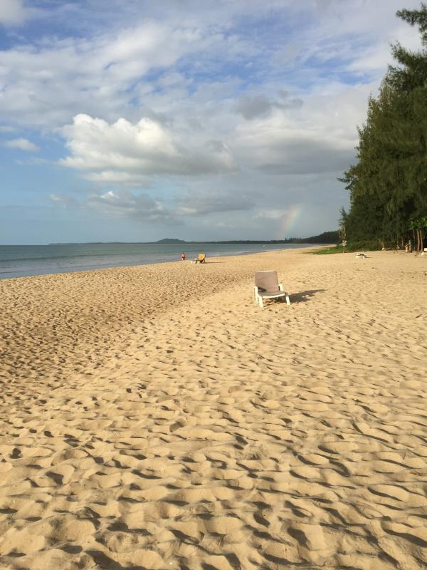Kilometres of beach