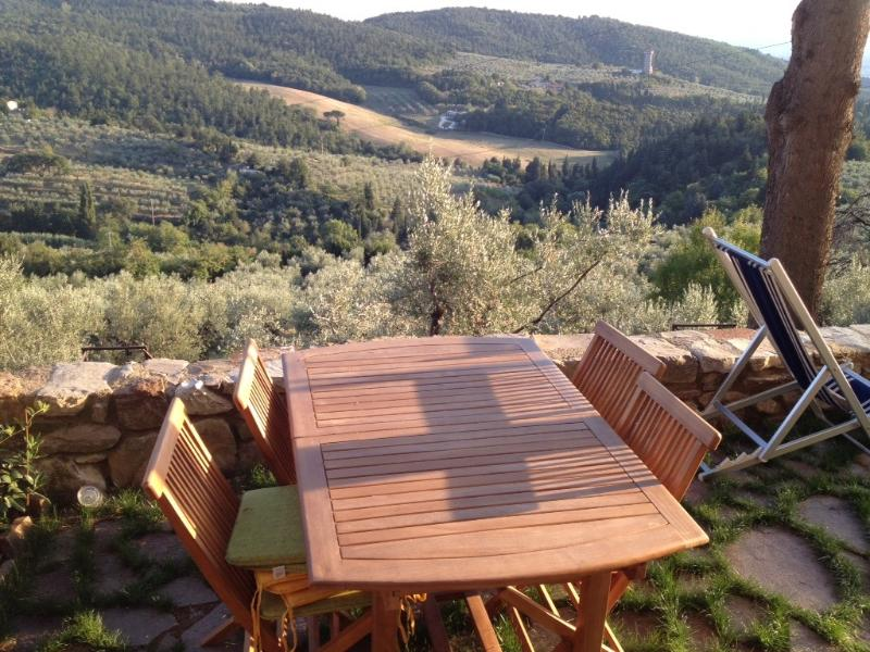 Tuscany Countryside Home, rustic with modern flare, holiday rental in Calenzano