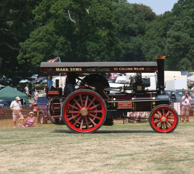 Vintage rallies are held throughout Cornwall during the summer.
