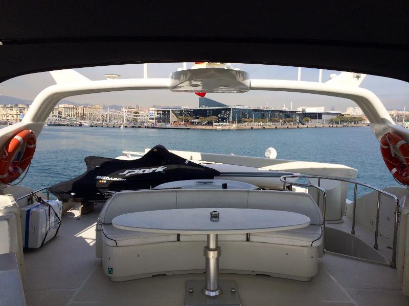 Brand new SeaDoo Jetski and Zodiac tender on board