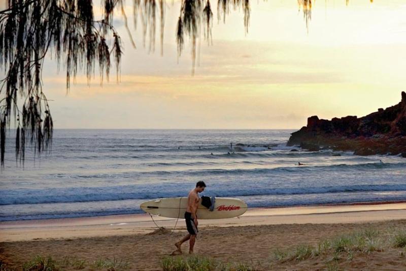 Agnes Water surf beach