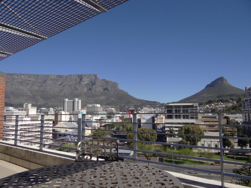 View of Table Mountain & Lion's Head (taken from outdoor dining area)