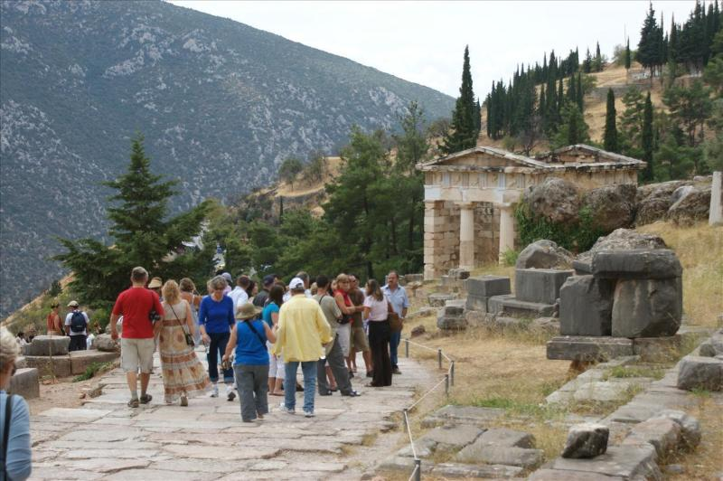 Visit in 1-day tour the ancient site of Delphi.