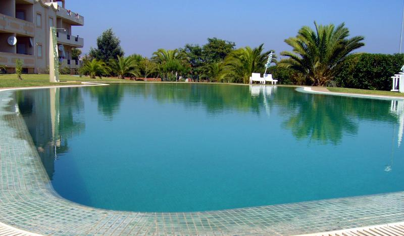 Our beautiful infinity pool