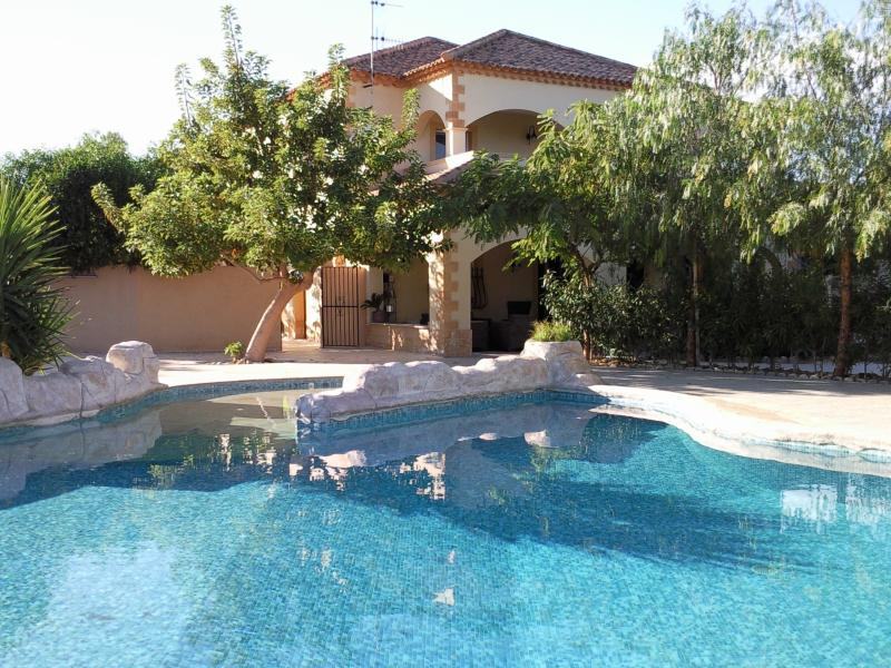 Main pool and house