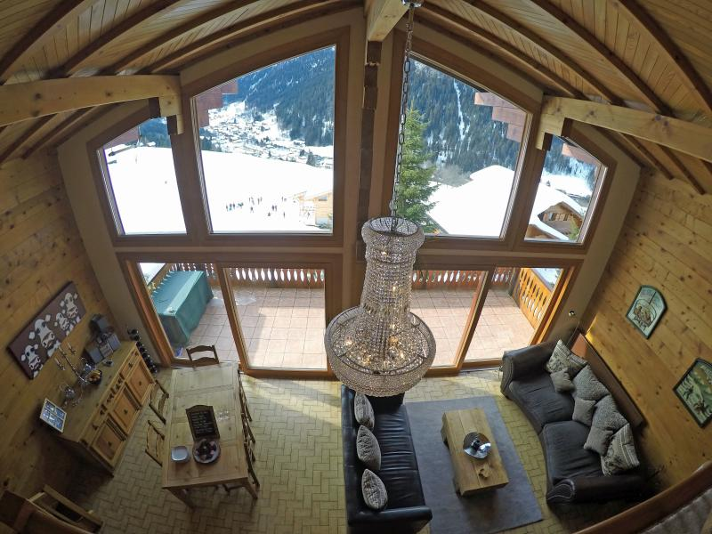 Idyllic mountain views from the lounge/dining room