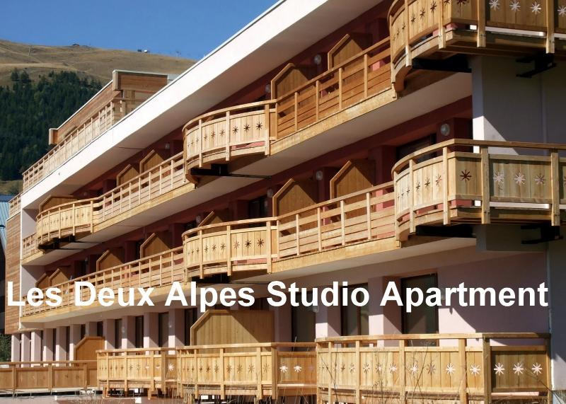 Les Deux Alpes Studio, holiday rental in Vénosc