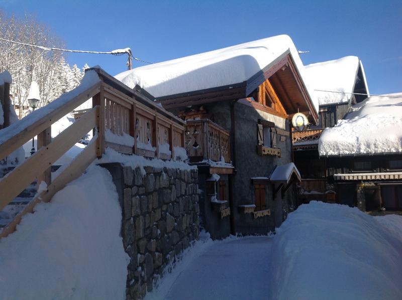 Das Chalet im winter