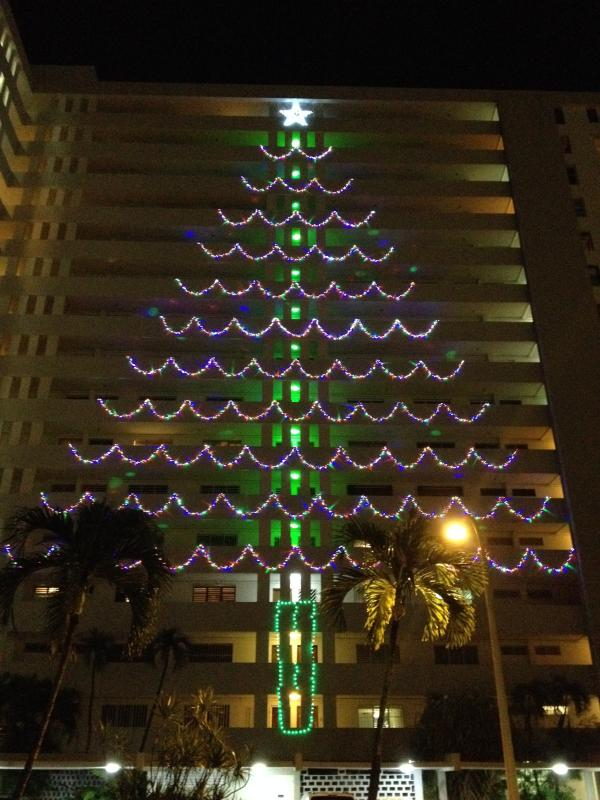 Christmas tree holiday decor