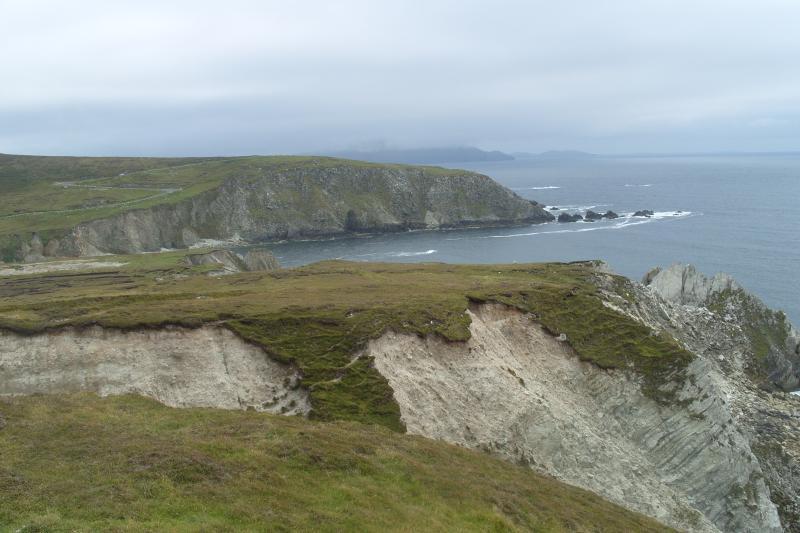 Achill Island Co Mayo un viaggio di grande giorno. Questa è la più grande isola al largo della costa irlandese