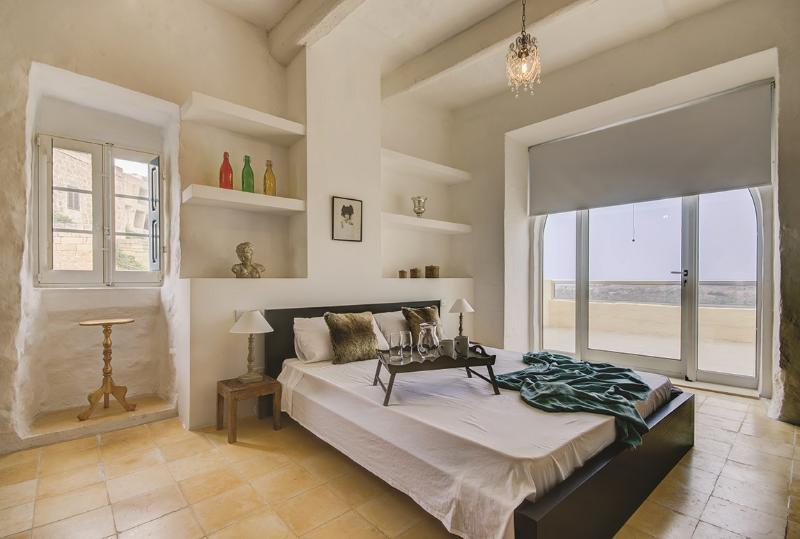 bedroom 2 with private terrace