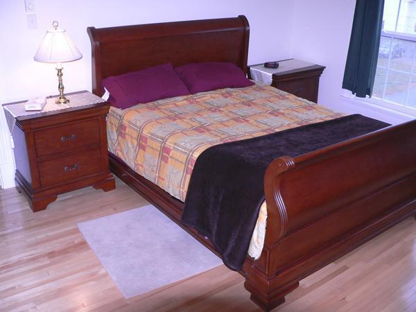 Une des Six chambres à coucher