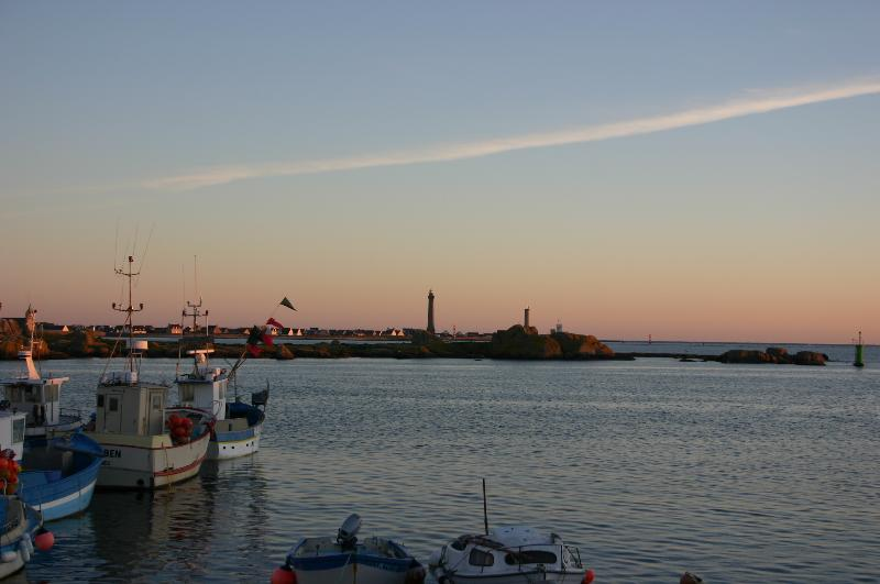 port, less than 1km far
