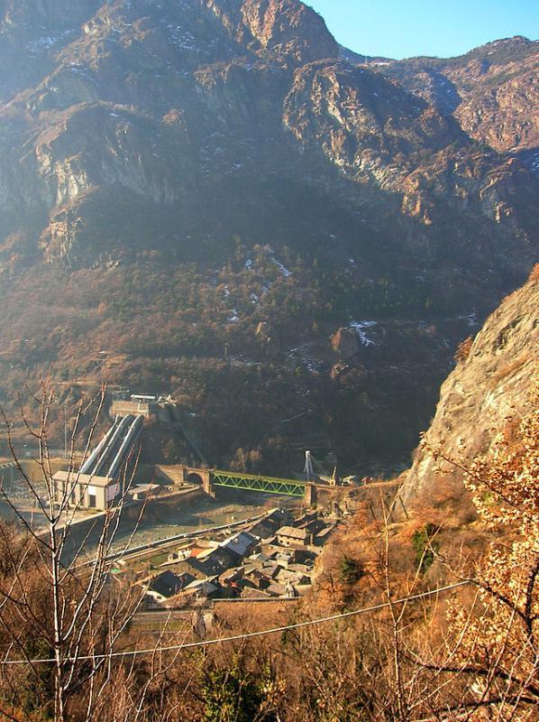 Vista del Borgo dall'alto