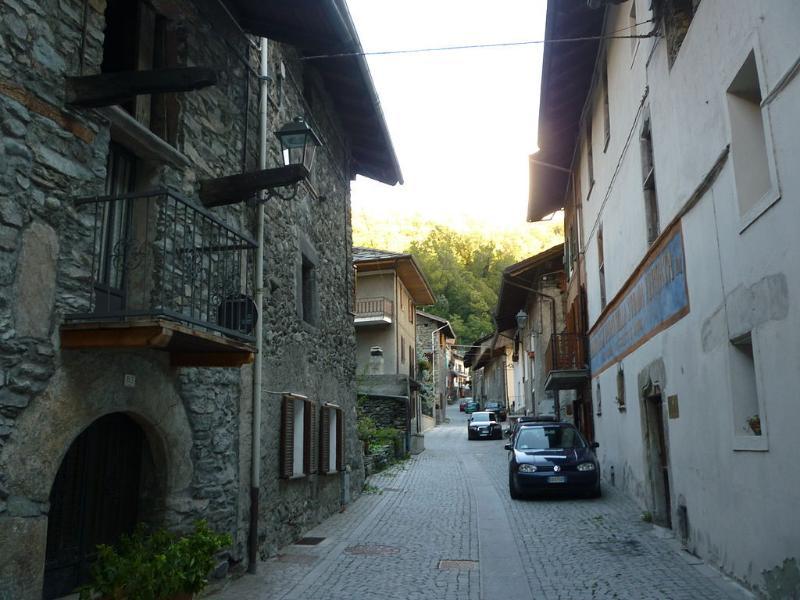 Vista del Borgo retro casa