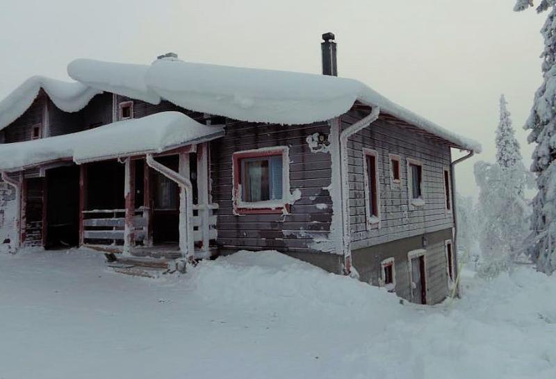 North facade in December
