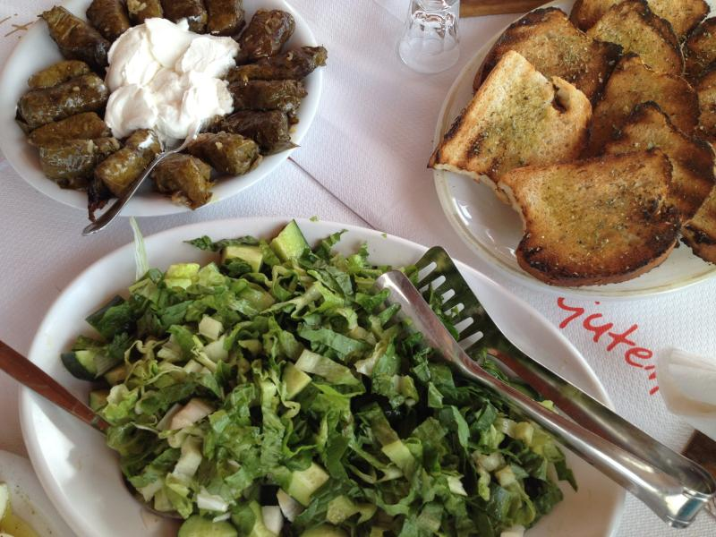 Rotonda Taverna with authentic Cretan food just 2kms away