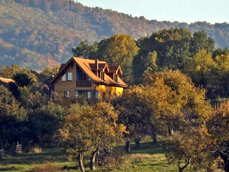 Villa Zollo at the Carpathian foothills | Sibiu Transylvania Romania