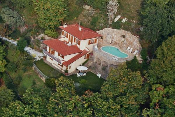Ansicht Villa Charme Toscana Meer