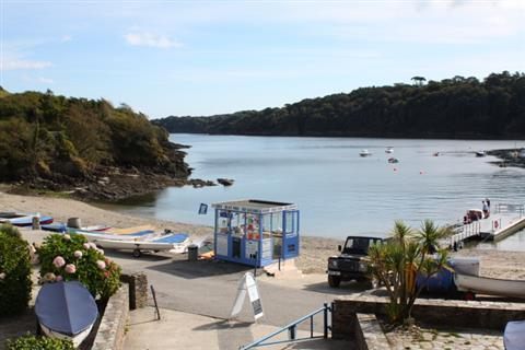 Stunning views of the Helford River.