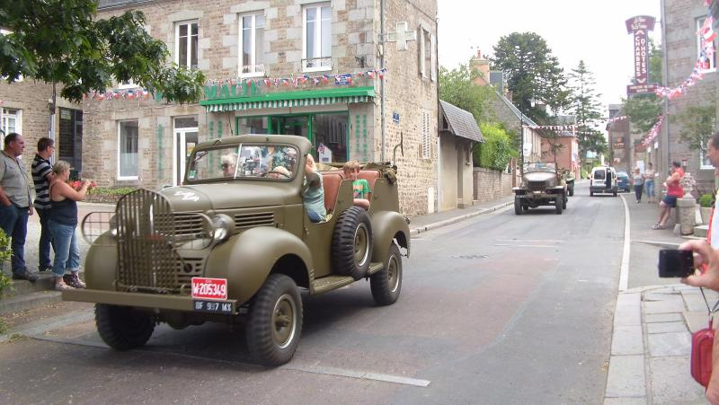 August 2014. 70th anniversary of the liberation of the nearyby village of Beny Bocage