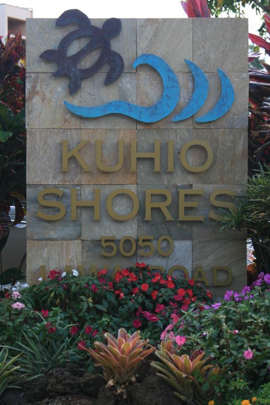 Kuhio kusten in Poipu/Koloa Kauai. Onze eenheid is #103