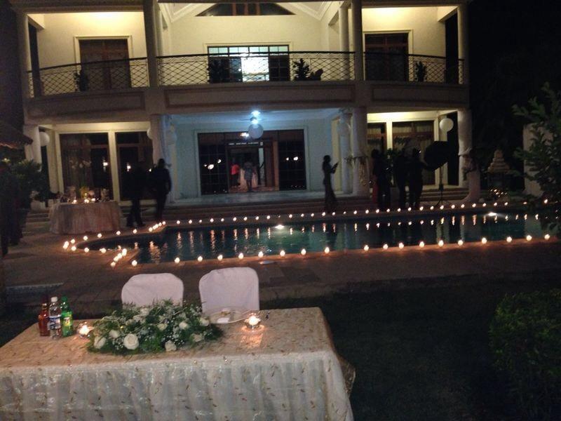 Wedding 2014 pool area