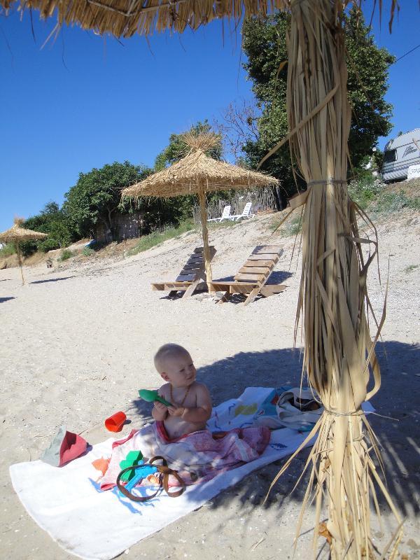 the sand beach again