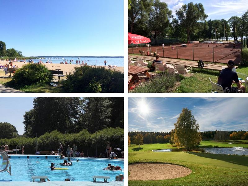 Within 2 km from the house you will find these places