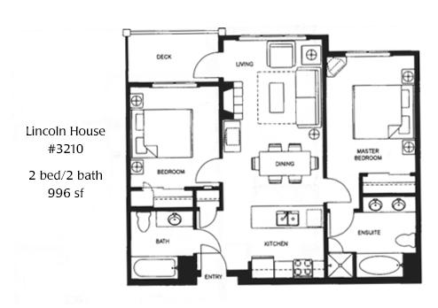 Plan d'étage Village # 3210