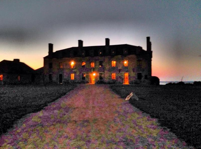 Fort  Niagara   adjacent to the house