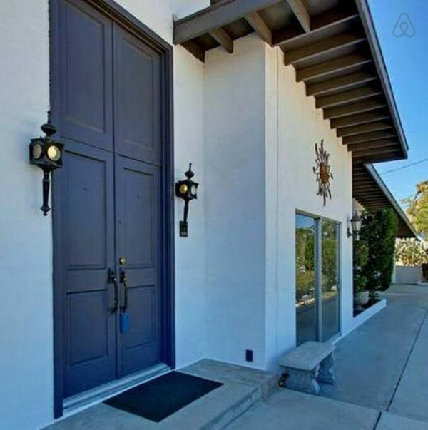 Double Door Entryway