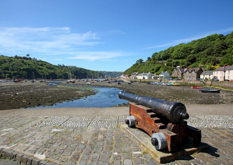 Nearby Lower Fishguard is the original port, far removed from the modern ferry terminal