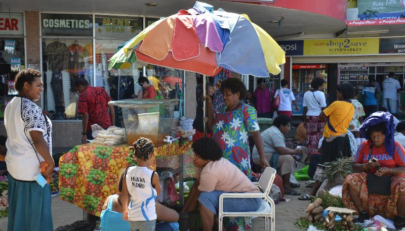 Bustling & colourful Sigatoka market, 20 mins away, where you can purchase all your fresh produce.