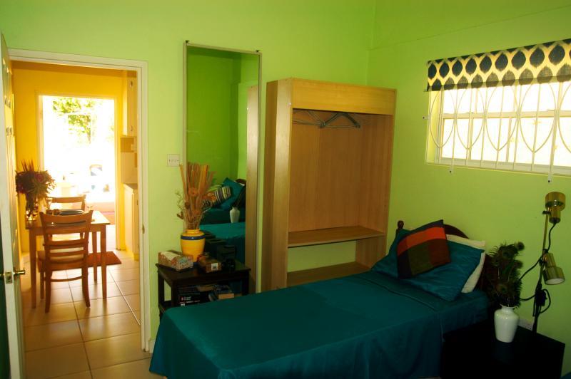 Quando o calor for demasiada, ou depois de um dia na praia, este quarto esfriará você.
