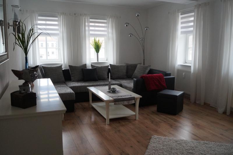 Ferienwohnung zum Schwan, casa vacanza a Arnstadt