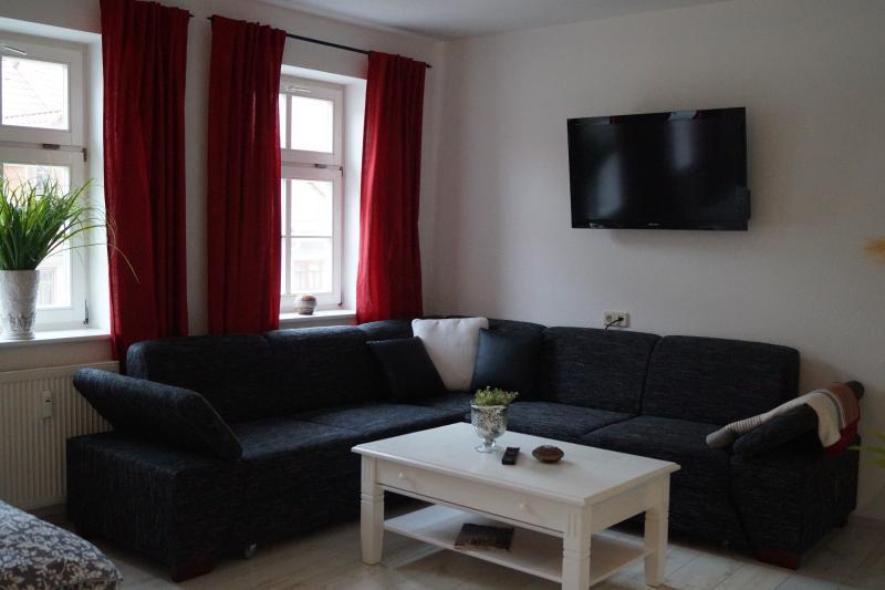 Ferienwohnung zum Schwan Studio Apartment, casa vacanza a Arnstadt