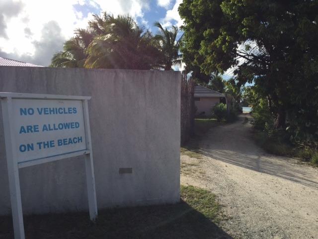 Playa de Stradello acceso a 3 minutos a pie