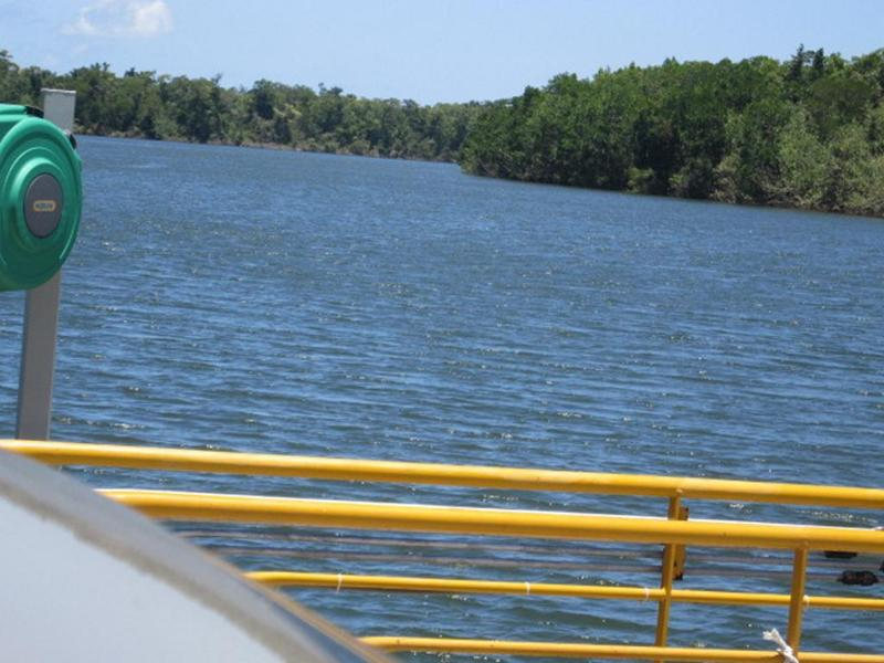 Ferry crossing 5 min away