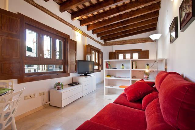 Charming loft Plaza Redonda -3, location de vacances à Valence
